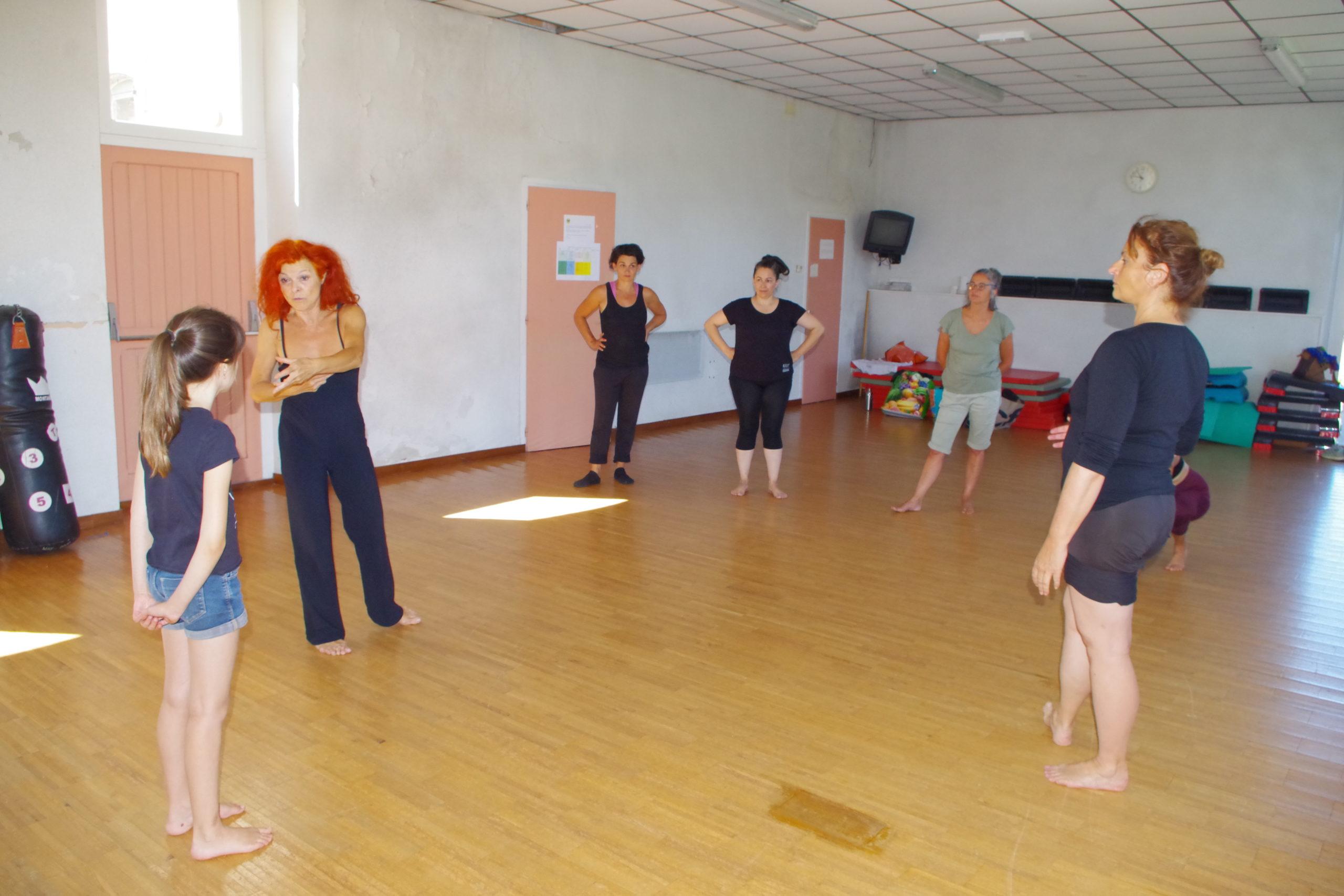 Stage danse contemp